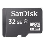 Tarjeta De Memoria Sandisk Sdsdqm-032g-b35a Con Adaptador Sd 32gb