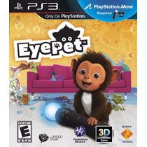 Eyepet Ps3 Original Nuevo Requiere Move