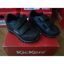 Zapato Zapatilla Colegial Kickers Nº 21y22 Envio Gratis