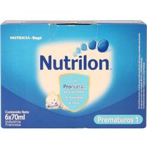 Nutrilon Prematuros 1 Formula Lactea Liquida Pronutra 6x70 M
