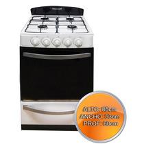 Cocina Panoramic Multigas Maxsp84 Rejilla De Acero Enlozado