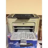 Impresora Hp 1505 + Gtía 3mes+ 2 Toner Hp85 +perfecto Estado