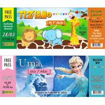 Invitaciones Tarjetas Cumpleaños Infantiles Personalizadas!