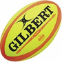 Pelota Rugby Gilbert Nº5 Omega Fluo Replica Oficial - 10708