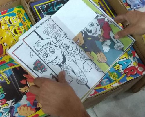 Souvenirs Infantil Egresados Jardin Libros Colorear Pintar 1