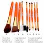 Set 9 Pinceles Maquillaje Profesional 15 Puntas Utilizables