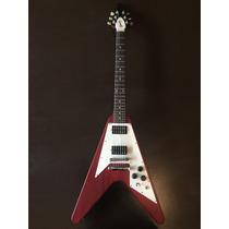 Guitarra Gibson Flying V Usa 2005 Funda Gibson - Permuto