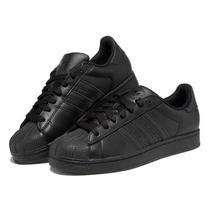 Zapatillas Adidas Superstar Foundation Negras Originales!!