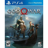 God Of War Ps4 Entrega Inmediata