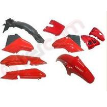 Kit De Plásticos Yamaha Ybr 125 - Rojo