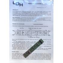 Ldh Decoder Frateschi Dcc System Dual-mode 2 Funcion 2f1.5