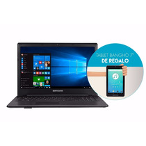 Notebook Bangho Celeron 4gb 500gb Win 10 + Tablet De Regalo