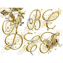 Set De Letras/numeros Ideal Enumerar Mesas Bodas/aniversario