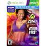 Zumba Fitness World Party Xbox Ntsc Nuevo Sellado