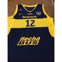 Camiseta De Basquet De Boca Juniors Temporada 2016
