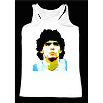 Musculosa Modal,futbol,diego Maradona,seleccion Argentina