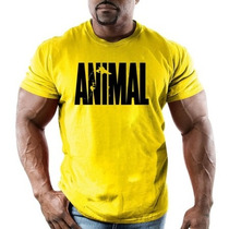 Remeras Universal Animal Pak Gold Gym Suplementos Entrenar