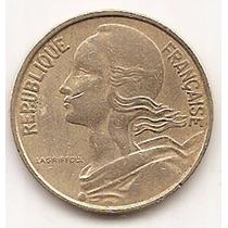 Moneda Francia 10 Céntimes Año1963 Km 929