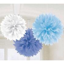 Flores Papel De Seda, Pompones, Panales - Colores Pastel