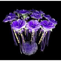 15 Rosas De Vela Con Armazón Ceremonia De Velas 15 Años