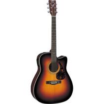 Guitarra Yamaha Electroacustica Folk Fx 370c Tbs