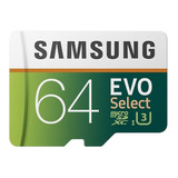 Tarjeta De Memoria Samsung Mb-me64ga/eu Evo Select 64gb