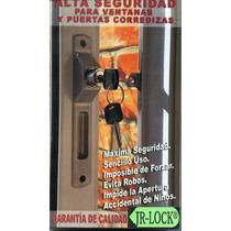 Cerradura Jr Lock Puerta O Ventana Corrediza Unica