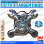 Calcomanias 3d Con Relieve, Accesorio Autos Motor