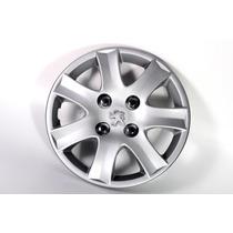Taza Rueda Peugeot 207 Y 206 14 Pulg Con Logo