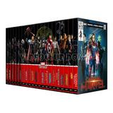 Colección Marvel Studios Mcu Dvd Avengers Hulk 21 Peliculas