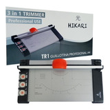 Guillotina Manual A4 Profesional Ideal Oficina 3en1 Troquel