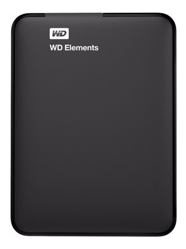 Disco Duro Externo Western Digital Wd Elements Portable Wdbu6y0020bbk 2tb Negro