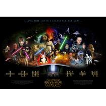 Cuadro Impresos Lienzo Y Lona Star Wars