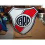 Estampaditos River Plate Para Centro De Mesa De 16 Cm