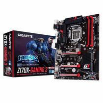 Mother Gigabyte Z170 Gaming 3 Ddr4 Intel 1151 Hdmi Mmtech