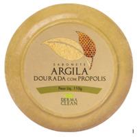 Sabonete Redondo Argila Dourada Propolis - 110g - Dermaclean