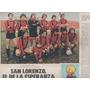 Lote :revista San Lorenzo . Mar Del Plata . Clipping