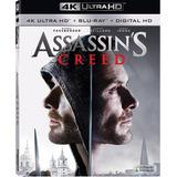 Assassin's Creed 4k Ultra Hd + Blu-ray Nuevo Importado Orig