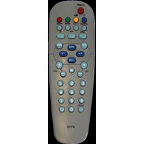 Control Remoto Tv Global Home Goldstar