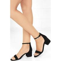 Zapatos Mujer Sandalia Taco Bajo Art Bet