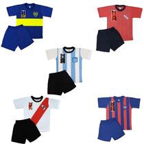 Pijama Equipo Futbol A Elección Club Juvenil Remera Short