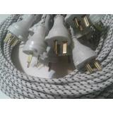 Cable Para Plancha Pvc 3x0,75 Con Seguro De 2,50mts