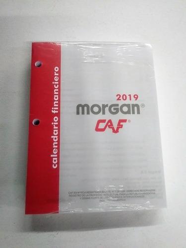 Calendario Financiero 2019.Taco Calendario Financiero Grande Morgan 2019 En Venta En