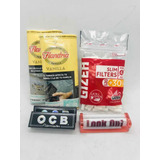 Combo Incial Tabaco Flandria Filtro Gizeh Look Out Ocb Suave