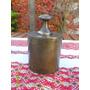 Buen Antigua Pesa En Bronce De 2 Kg Para Balanza 2 Platos