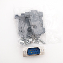Conector Ficha Db-9 (db9) Macho 9 Pin Con Tapa Plastica