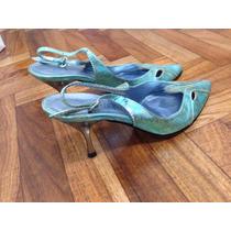 Zapatos Stilletos Saverio Di Ricci N36 Un Uso
