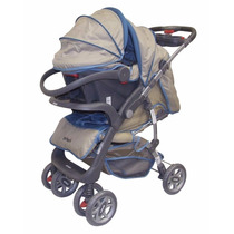 Coche Travel System Super Suspension Con Huevito Priori