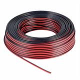 Cable Para Bafle 2 X  1.5 Mm Rojo Y Negro Rollo X Metro