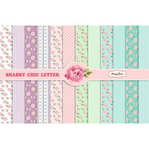 Kit Imprimible Pack Fondos Shabby Chic 60 Clipart